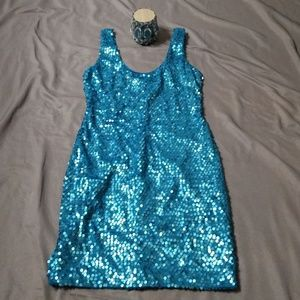 As U Wish Sequined Bodycon Dress